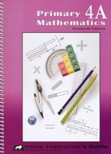 Primary Mathematics Home  Instructor's Guide 4A (Standards Edition)
