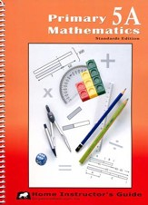 Primary Math Home Instructor's Guide 5A (Standards Edition)
