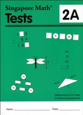 Singapore Math Tests 2A (Primary  Mathematics Common Core Edition)