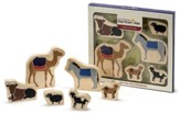 The Christmas Star From Afar Animals, Set of 6