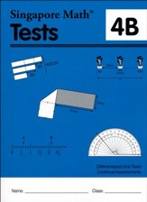 Singapore Math Tests 4B (Primary Mathematics Common Core Edition)