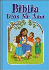 Biblia Dios Me Ama, Azul  (God Loves Me Bible, Blue)
