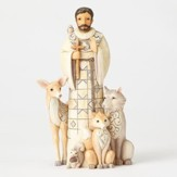 St. Francis Woodland Figurine, Blessed Be All Creation