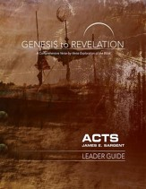 Acts - Leader Guide, eBook (Genesis to Revelation Series)