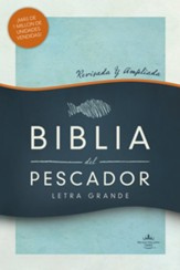 RVR 1960 Biblia del Pescador letra grande, tapa dura, RVR 1960 Fisher of Men Bible, Hardcover