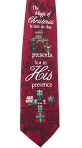 His Presence Silk Tie