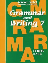 Hake's Grammar & Writing Grade 7 Teacher Packet, 1st Edition