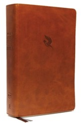 NKJV Comfort Print Spirit-Filled Life Bible, Third Edition, Imitation Leather, Brown