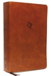 NKJV Comfort Print Spirit-Filled Life Bible, Third Edition, Imitation Leather, Brown, Indexed
