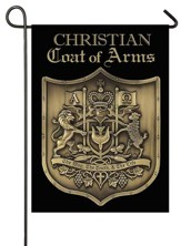 Christian Coat of Arms Flag, Small