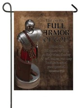 Put On the Full Armor Of God Flag, Small