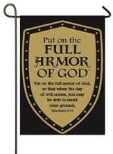 Put On the Full Armor Of God, Applique Flag, Small