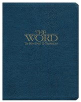 The Word: The Bible from 26 Translations (slightly imperfect)