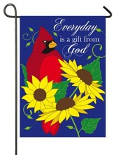Everyday Is A Gift From God, Applique Flag, Small