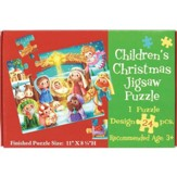 Children's Christmas Puzzle, Nativity, 24 Pieces