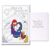 Jesus Is the Reason For the Season, Color Cards, Pack of 12