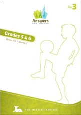 Answers Bible Curriculum Year 3 Quarter 1 Grades 5-6 Teacher Guide with DVD-ROM