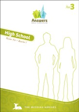 Answers Bible Curriculum Year 3 Quarter 1 High School Teacher Guide with DVD-ROM