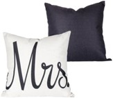 Mrs. Decorative Pillow