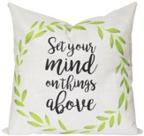 Set Your Mind on Things Above Pillow