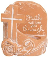 Faith Will See You Through, Tealight Holder