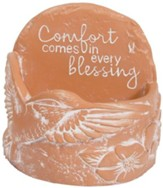 Comfort Comes In Every Blessing, Tealight Holder