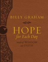 Hope for Each Day Large Deluxe: Words of Wisdom and Faith - eBook