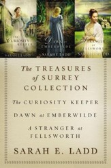 The Treasures of Surrey Collection: The Curiosity Keeper, Dawn at Emberwilde, A Stranger at Fellsworth / Digital original - eBook