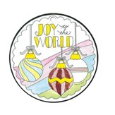 Joy To the World, Color Ornament