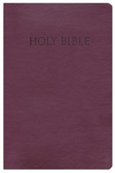 KJVer (Easy Reader) Personal Size Bible, Ultrasoft Burgundy