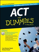 2015 ACT For Dummies (with Free Online Practice Tests)