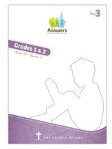 Answers Bible Curriculum Year 3 Quarter 3 Grades 1-2 Teacher Kit