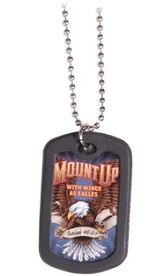 Dog Tag Necklace, Mount Up 3