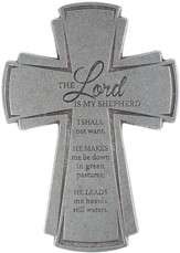 Lord Is My Shepherd, Wall Cross