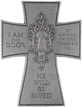 I Am The Door, Metal Wall Cross