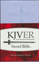 KJVer (Easy Reader) Personal Size Sword Value Thinline Bible, Ultrasoft Lavender