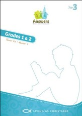 Answers Bible Curriculum Year 3 Quarter 4 Grades 1-2 Teacher Kit