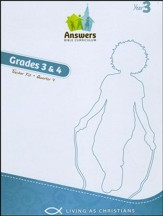 Answers Bible Curriculum Year 3 Quarter 4 Grades 3-4 Teacher Kit
