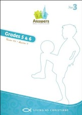 Answers Bible Curriculum Year 3 Quarter 4 Grades 5-6 Teacher Kit