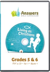 Answers Bible Curriculum Year 3 Quarter 4 Grades 5-6 Teacher Kit on CD-ROM