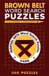 Brown Belt Word Search Puzzles