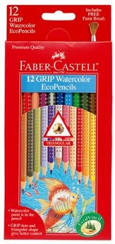 Watercolor EcoPencils, Pack of 12