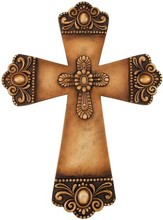 Double Cross, Resin Wall Cross