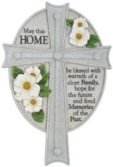 May This Home Be Blessed Wall Cross