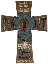Keys Of the Kingdom Wall Cross