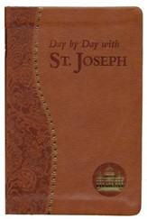 Day by Day with Saint Joseph, Imitation Leather, Brown