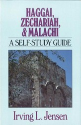 Haggai, Zechariah & Malachi- Jensen Bible Self Study Guide - eBook