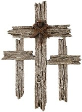 Three Crosses Wall Cross