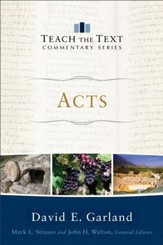 Acts (Teach the Text Commentary Series) - eBook
