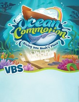 Ocean Commotion VBS Promotional Posters (Pack of 10)